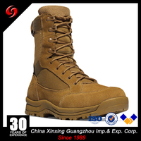 Good US Army Military Tan Desert soft army combat military tactical rubber outsole boots