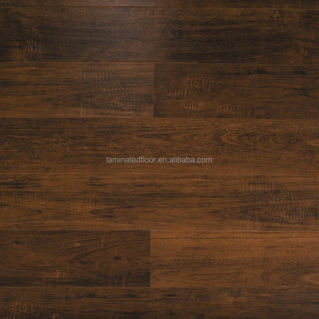 20- Year Warranty Perfect patterns Dark Brown Laminate Flooring