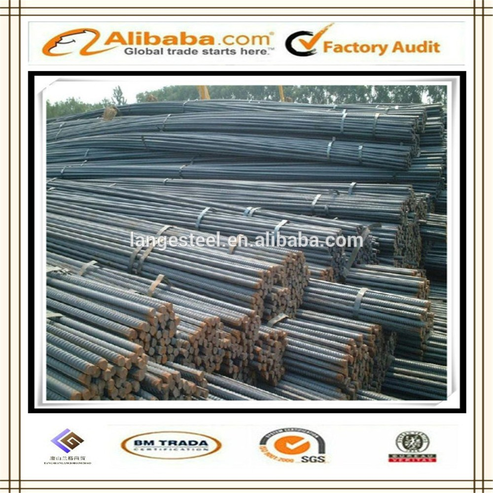 concrete slab reinforced steel bar iron rebar HRB400 HRB335 rebars in china