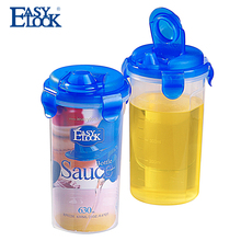 UK BPA Free Round Tall Kitchen Oil Plastic Storage Containers