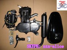 new 2 stroke 80cc gas motor/motor kits /gas powered bicycle engine kit/motorized bicycle