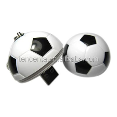 Football U disk 8 g personalization U disk 4 g can be customized LOGO can open mold custom usb flash drive
