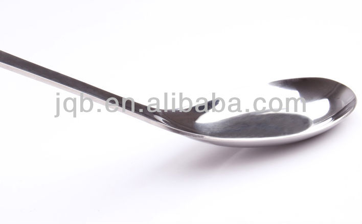 stainless steel cheap flat spoon