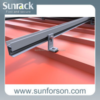Solar mounting parts for metal roof L-feet