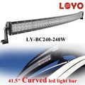 40 inch curved led light bar for Trucks SU/4WD offroad curved led light bar 240w
