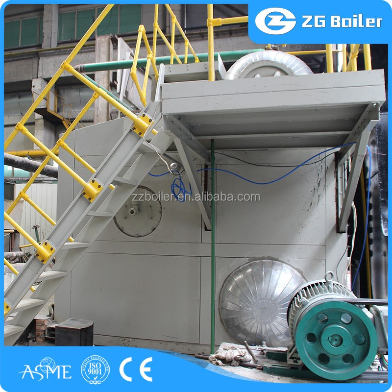 Safety and Reliable gas horizontal boiler /horizontal water tube