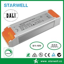 60w dimming led driver with DALI control 32~54VDC 1150mA output/60W dimming led power adapter