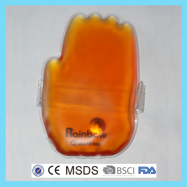Resuable magic click snap gel hand warmers