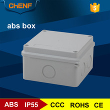 Newest electrical enclosure distribution box plastic switch box with knock out hole