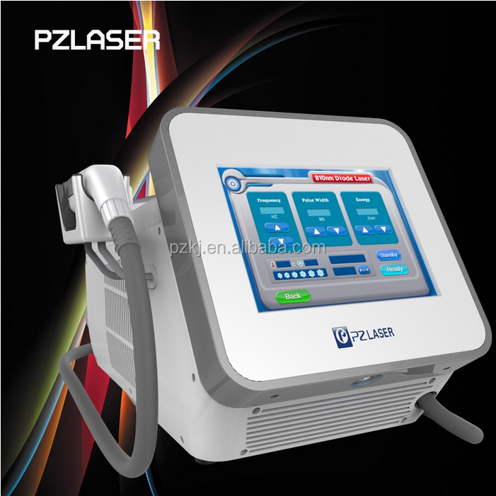 focus light high power 400w 808 laser diode hair removal machine