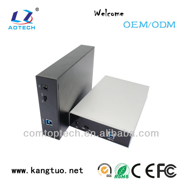 aluminum 3.5 nas storage server usb 3.0 network attached storage