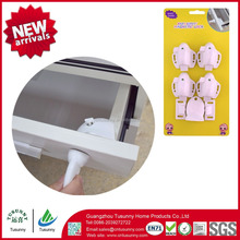 Amazon hot selling child proof baby magnetic safety lock strong adhesvie hidden cabinet lock
