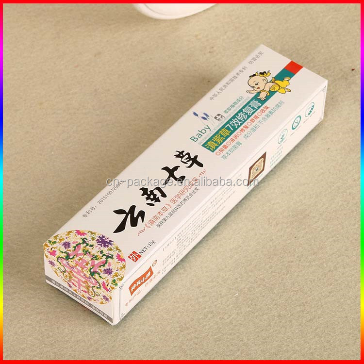 Rectangle Shape Custom Order for Ointment /Packaging Paper Box in Guangzhou