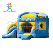 Cheap Price Inflatable Jumping Castle With Slide For Children