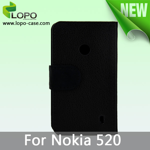 2014 New Sublimation Leather Case for Nokia Lumia 520