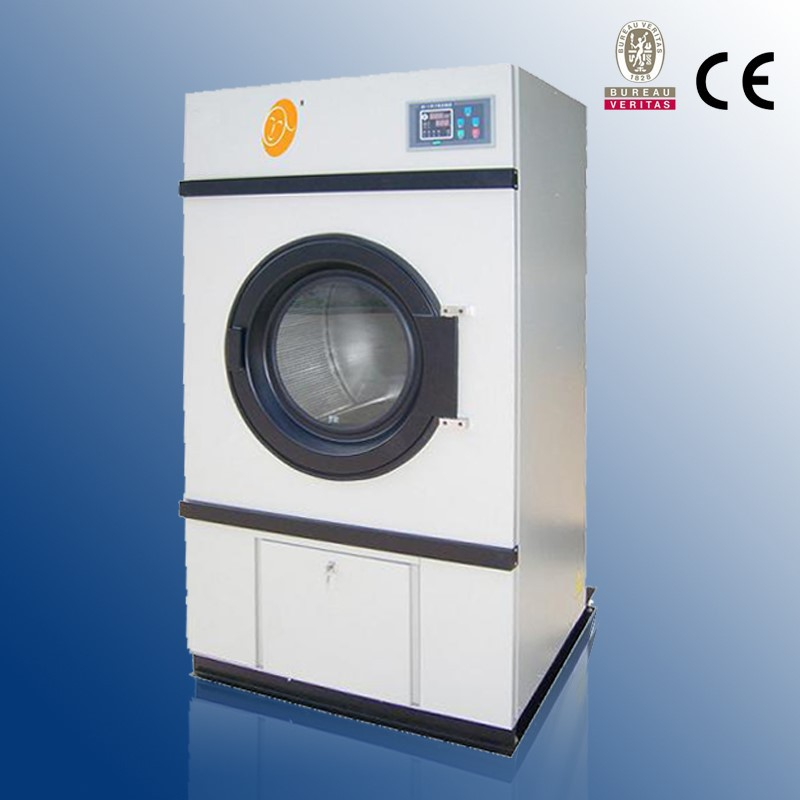 100kg low energy consumption laundry dryer with manometric thermometre