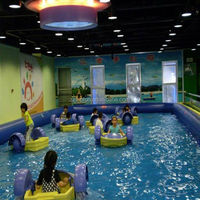2013 Hot Selling above ground indoor inflatable pool for kids