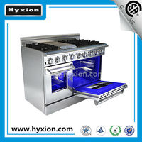 Restaurant Equipment 48 inch heavy duty gas and gas kitchen range