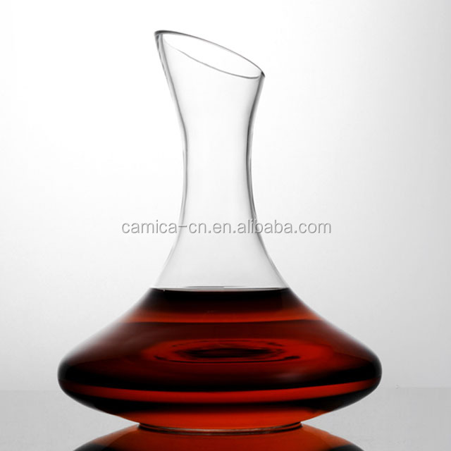 1800ML Wholesale Classical Lead Free Crystal Wine Decanter