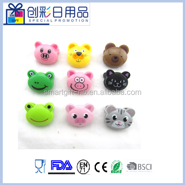 animal head shape plastic bag sealing clip