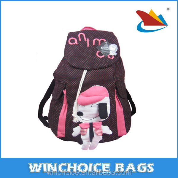 Orthopedic children school bags for girls/new 2015 kids backpack high winx book bag