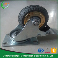 scaffolding caster 6 inch solid rubber mobile scaffolding caster wheel