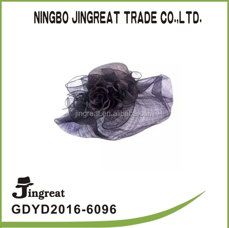 2016 wholesale Fashion jingreat church hats for sale