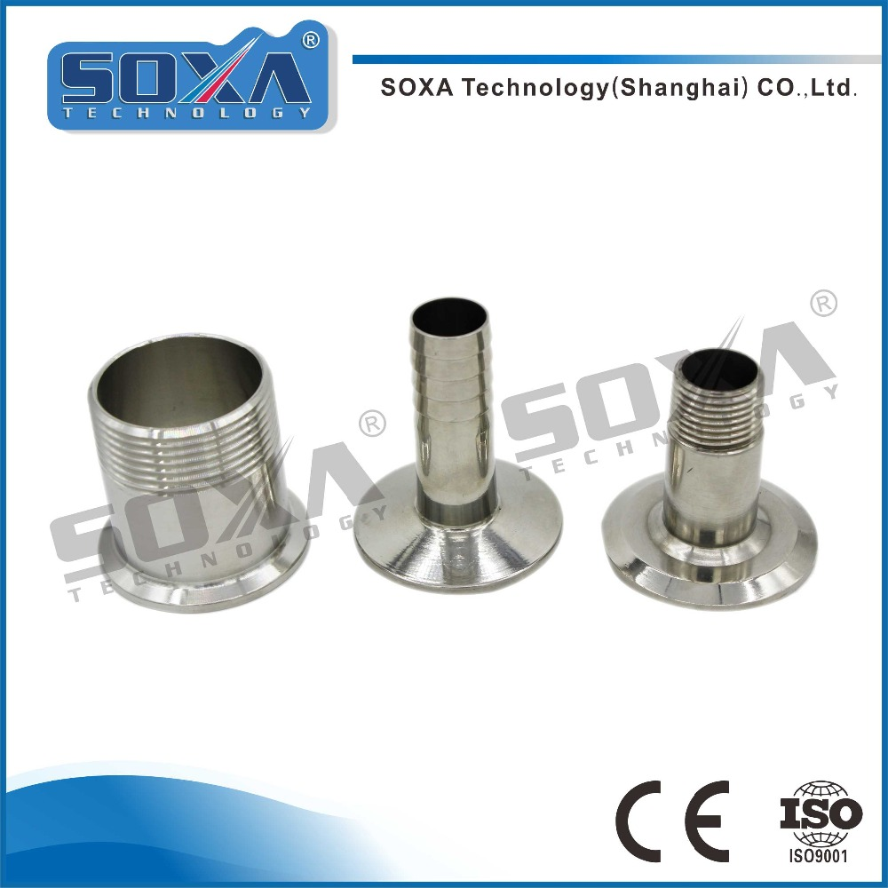 304 316L Sanitary Fittings Stainless Steel Hose Connection