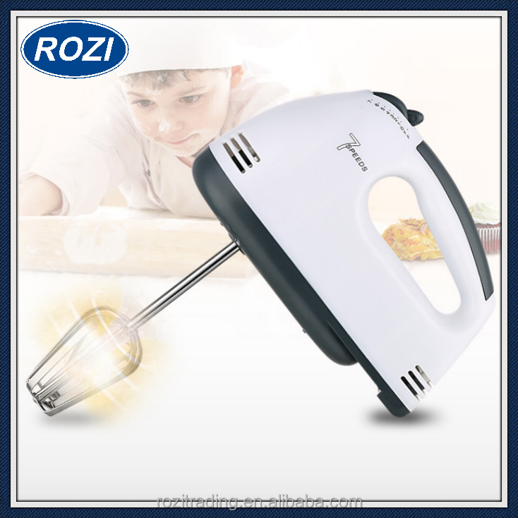 Powerful Hand Mixer 7 Speed Electric Hand Whisk