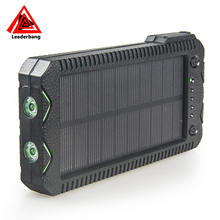 IP67 Waterproof solar power bank 12000mah emergency chargers with Cigarette lighter