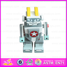 2015 robot toy(toy robot) and wooden doll WJ277985