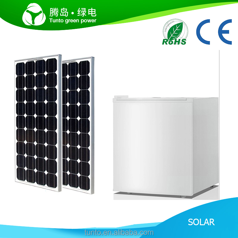 Factory Direct dc 12v Solar Power Mini Fridge Refrigerator 50L for Home