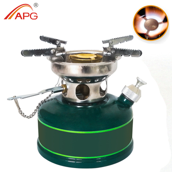 APG Folding Mini Camping Gasoline Backpacking Stove