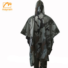 Camo Waterproof Army Hunting Military poncho