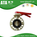 high performance cheap price pp butterfly valve flange type valves manufacturer