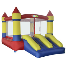 YARD Inflatable Bouncer Bounce House Jumping Castle Slide with Blower