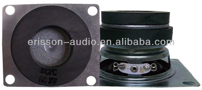 2 inch 8 ohm home theater speaker with dual magnet