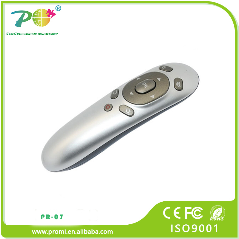 2.4 G fancy wireless presentation remote with laser pointer mouse remote controll for corporate gift