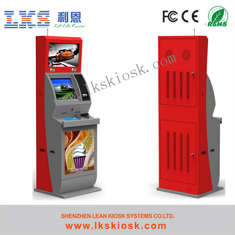 Lcd Payment Kiosk touch screen vending machine For Hotel Use