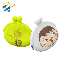 New item Girl Gift Silicone Coin Wallet With OEM