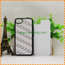 2D sublimation TPU+PC mobile phone cases for iphone 7 plus