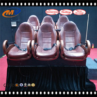 New brand 5d cinema/theater equipment for sale with 24 seats electric with CE