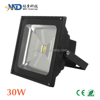 COB 30W led flood light Epistar/Bridgelux led IP65 Waterproof 90-260v 12V 3 years warranty led wifi flood light