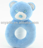 baby rattle toys plush/rattle toy