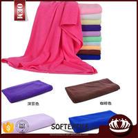 Cheap super absorbent custom printed microfiber bath towel