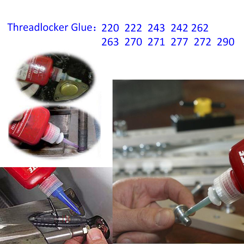 Super Glue Threadlocker Glue Acrylic adhesive anaerobic adhesive 222 242 243 262 263 270 271 272 277 290