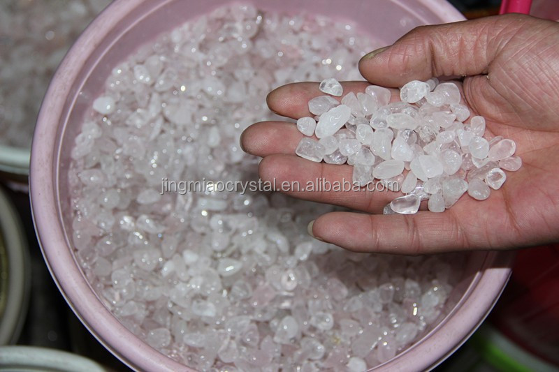 Pure natural crystal powder of gravel The crystals of British Rose crystal bonsai stone The tank stone
