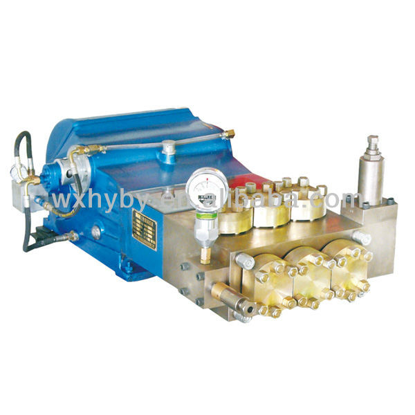WHY9000 Series 400~500L/Min high pressure water test pump