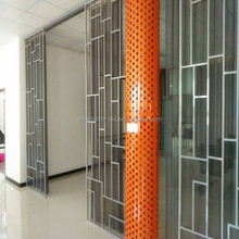 soundproof metal privacy sliding window screens