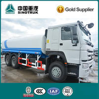 Howo 6x4 water tanker truck for sale